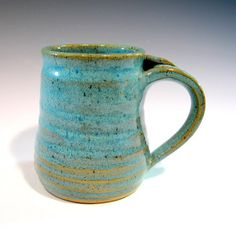 Ceramic Coffee Mug Pottery Coffee Cup by LaurenBauschOriginal