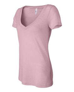 Bella + Canvas - Women's Short Sleeve Burnout V-Neck Tee - 8605