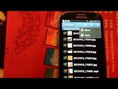 Samsung Galaxy S3 / S2: Move your Photos & Videos to your SD Card - YouTube