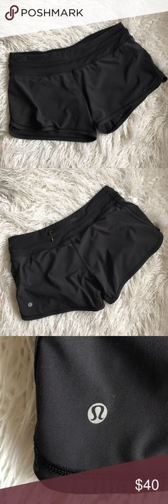 Lululemon Shorts These are the most comfortable shorts in the world! Unfortunately they're just a tad too big 😩 cut off product tag but size dot is shown in photo. Never been worn outside— PERFECT like new condition. No flaws lululemon athletica Shorts