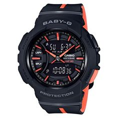 Casio Baby-G BGA-240 Two-Tone Series Black Orange Watch BGA240L-1A >>> Details can be found by clicking on the image. (This is an affiliate link)