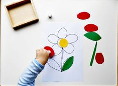 Montessori Inspired Spring Activities for 20 months old | My Little Keepers