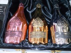 Armand de Brignac's premium rosé champagne for tasting at Whitehall 2014...