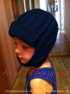 шапка спицами на мальчика