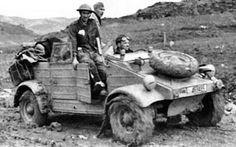 Afrique du Nord prise de guerre par les Tomy 1944