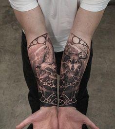 Matching forearm tattoo - 110+ Awesome Forearm Tattoos  <3 <3