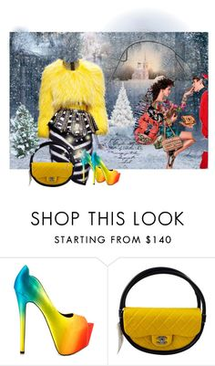 """""""Untitled #109"""" by aida-ida ❤ liked on Polyvore featuring beauty, Balmain, TaylorSays and Chanel"""