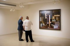 https://flic.kr/p/HeFu5h | Tweed Reopening Board Members & Guests Preview | Exhibit:  Jeffrey T. Larson, Domestic Space