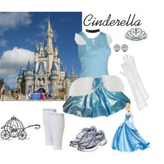 """PHM Cinderella Costume"" by jencirino on Polyvore"