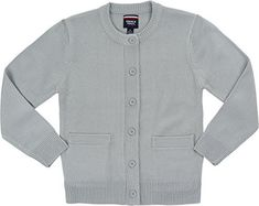 "Product review for French Toast School Uniform Girls Anti-Pill Crew Neck Cardigan Sweater, Gray, Medium (7/8).  A true traditional crew neck cardigan with dyed-to-match button closure and front pockets. Special anti-pilling qualities keep it looking great throughout the entire school year. Acrylic. Imported. Machine wash.   	 		 			 				 					Famous Words of Inspiration...""Wars are caused by..."