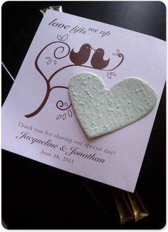 Perfect wedding favors!!! good for the planet, nice on the budget and its a pretty!!