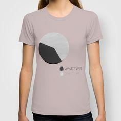WHATEVER. SHUT UP T-shirt by Good Sense - $22.00 #WHATEVER.SHUTUP #WHATEVER. #SHUT #UP #Typography #Humor #GraphicDesign #society6 #tshirts #shirts #tees #americanapparel #fittedtees