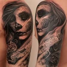 mexican themed sleeve tattoo - Google Search