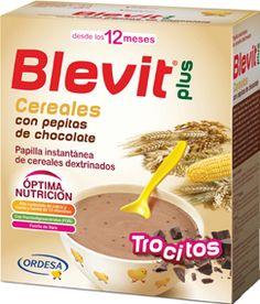 172786 Blevit Plus Cereales y Pepitas de Chocolate - 600 gr.