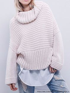 2015 autumn winter cashmere sweater women fashion sexy Turtleneck sweater loose wool sweater Flare sleeve plus size pullover Wool Sweaters, Cashmere Sweaters, Pullover Sweaters, Oversized Sweaters, Baby Sweaters, Moda Crochet, Beige Sweater, Loose Sweater, Cable Sweater