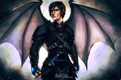 Azriel I love this painting SO much! Creds to Project Nelm