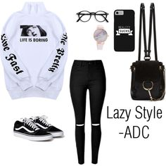 Lazy Style by anatiller on Polyvore featuring Wallace and Chloé