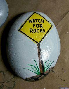 066 Cute Painted Rock Ideas for Garden