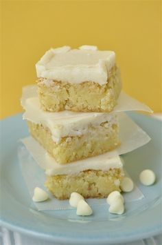 White Chocolate Decadence...these look so yummy!
