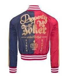 Harley Quinn: Property of The Joker Varsity Jacket Official Replica
