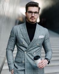 Formal Hairstyles For Men 3 Checkered Suit Mens Fashion Smart Mens Fashion Blazer