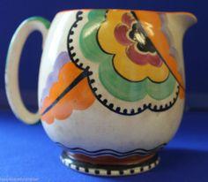 Art Deco Grays Pottery Jug Possible Susie Cooper Design