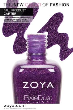 Zoya PixieDust in Carter from the Fall 2013 Edition - ORDER NOW!
