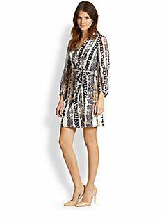 Diane von Furstenberg - Sigourney Silk Wrap Dress Just got it last week, even more fabulous than in photo.