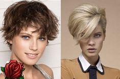 styling krátke vlasy