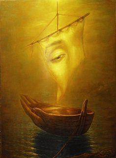 Luminous paintings Igor Maikov, 1966