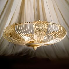 Etched gold-coloured, gold leaf, iron, Murano glass, light by Masca. Item No. Moroccan Style, Murano Glass, Hanging Lights, Marrakech, Gold Leaf, Lamp Light, Chandelier, Ceiling Lights, Lighting