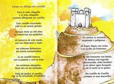 Poema como se dibuja un casrillo Text Quotes, Spanish, Poems, Website, Html, Google, Queens, Texts, Castles