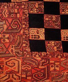 Paracas culture textiles (Peru)