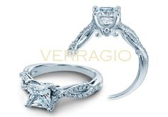 INSIGNIA-7050 engagement ring from The Insignia Collection of diamond engagement rings by Verragio