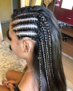 Cool Braid Hairstyles, Teen Hairstyles, Unnatural Hair Color, Gypsy Hair, Haircuts Straight Hair, Prom Hair Down, Wedding Hair Half, Baby Girl Hair, Natural Hair Styles