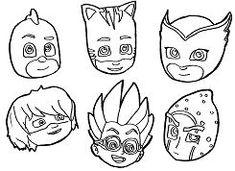 resultado de imagen para pj mask printables | superhelden