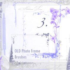 FREE: Old Photo Frame Brushes 3