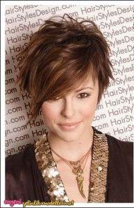 Günlük Kısa Saç Modelleri
