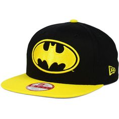 DC Comics Off Liner 9FIFTY Snapback Cap - Batman ($30) ❤ liked on Polyvore featuring accessories, hats, batman, snapback cap, snapback hats, snap back cap, snap back hats and cap snapback