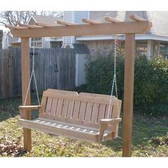 online shopping for Donath Cedar Arbor Porch Swing With Stand August Grove from top store. See new offer for Donath Cedar Arbor Porch Swing With Stand August Grove