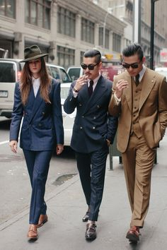 suits x street style