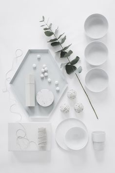 Published in Plaza Interiör:Kitchenwear   kitchenware . Küchengeschirr . battie de cuisine   Styling: Jenny Martinsson  Photo: Sara Medina Lind  