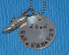Runner | Runner Gift | Marathon Gift | Runner Gifts | Charms for Runners | Marathon Jewelry | Running Shoe Charm Necklace | Gift Runner | by charmedbykobe on Etsy