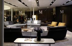 See the latest from leading Brands, Architects, Designers and Art Directors Stand Design, Sofa Design, Architects, Sofas, Designers, Furniture, Home, Art, Couches