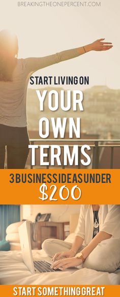 Tired of being part of the corporate machine? Check out these low cost business ideas to make extra money. Earning money online is within reach now more than ever!