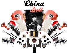 """China Doll"" by aakinal on @Polyvore"