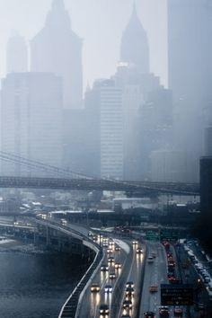 Rain in New York City