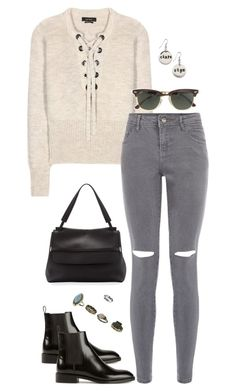 """""""Untitled #3177"""" by meandelstyle ❤ liked on Polyvore featuring moda, Isabel Marant, Yves Saint Laurent, The Row, J.Crew e Miss Selfridge"""