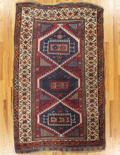 "Yuruk rug,Eastern Anatolia,circa 1880, 6'.4""x3'.10"" (193x117 cm)."