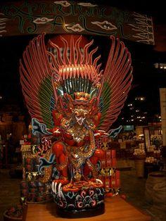 Garuda Statue in Bali, Indonesia